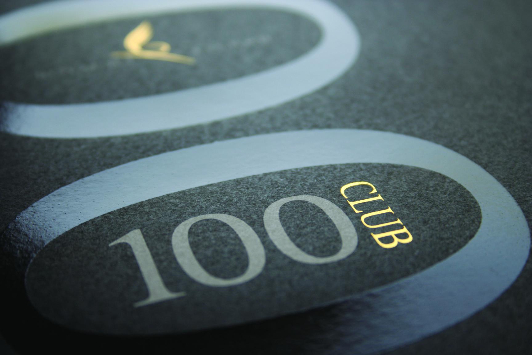 Print services - 100 Club