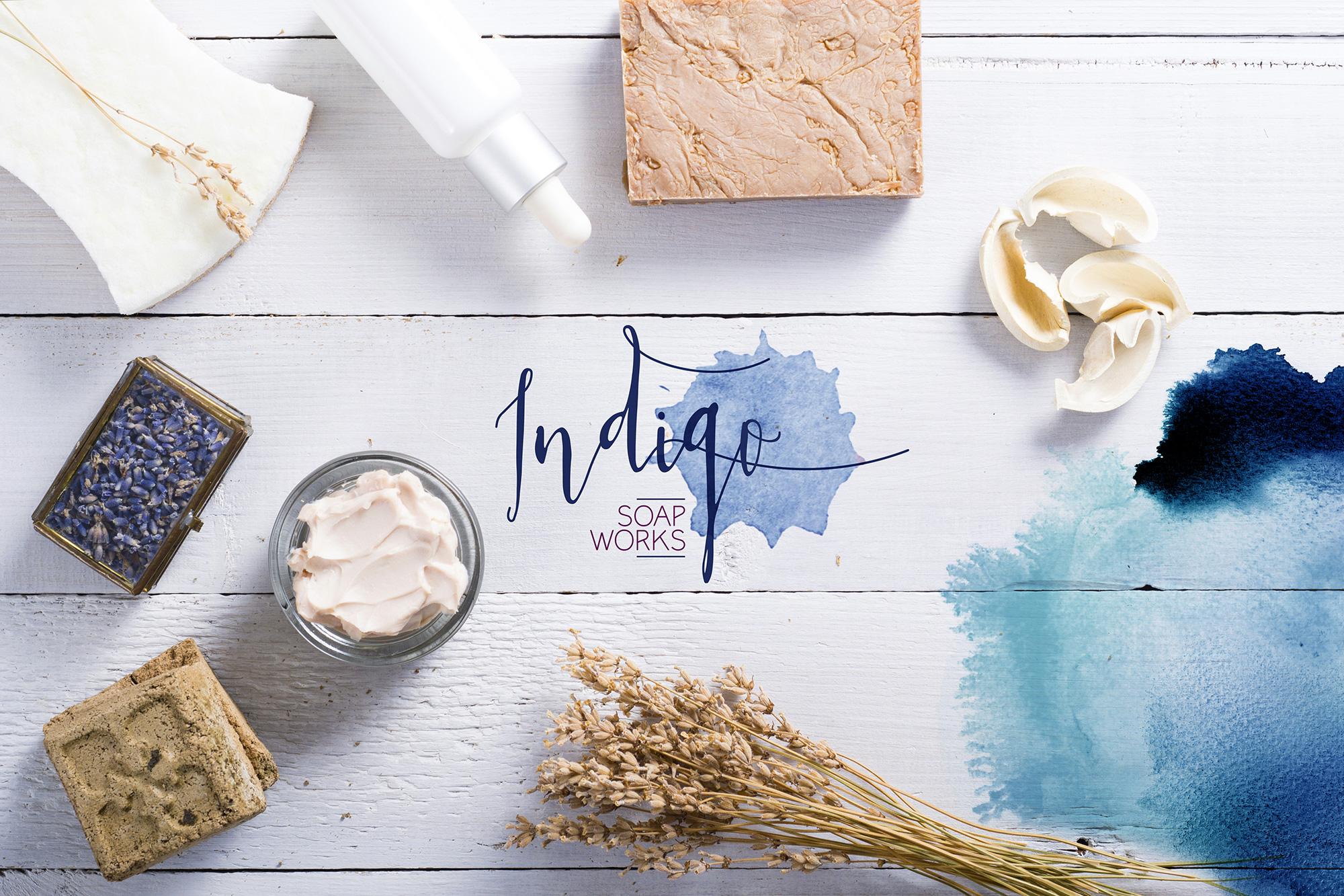 Indigo Soap Works - Branding