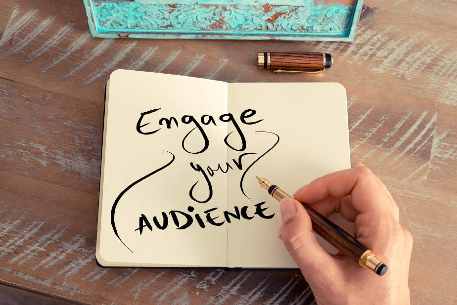 engage your audience - branding